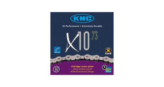 KMC X-10-73 - Chaîne - gris